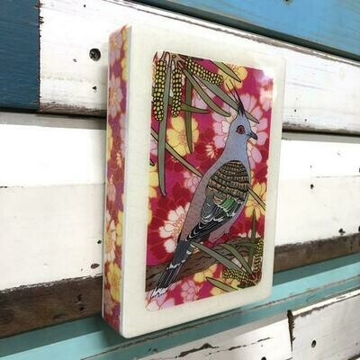 Medi Woodblock - Top Notch Pigeon