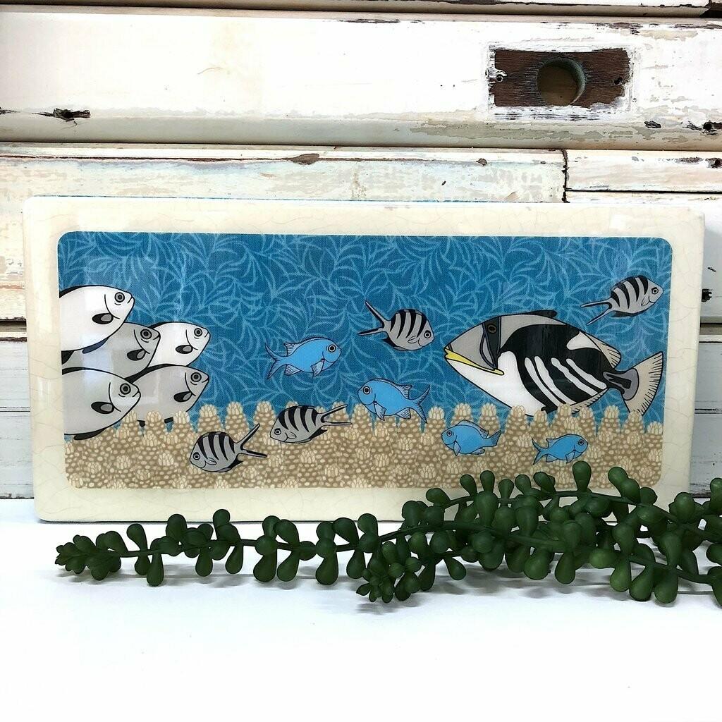 Pano Woodblock - Reef Life