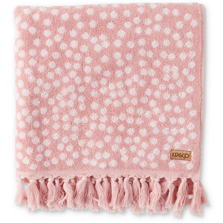 Towel - Bath Sheet / Beach Towel - Strawberry Lamington