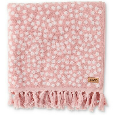 Towel - Bath Sheet / Beach Towel - Strawberry Lamington