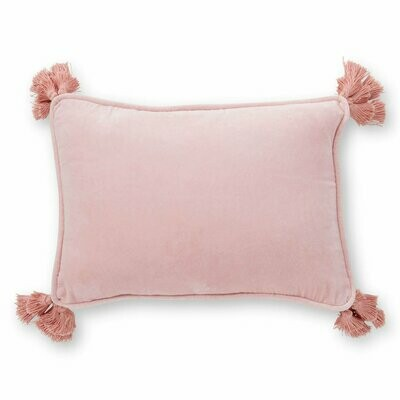 Velvet Souk Cushion - Pink Salt