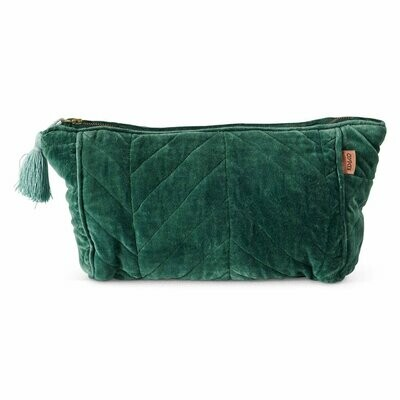Velvet Toiletry Bag - Sycamore