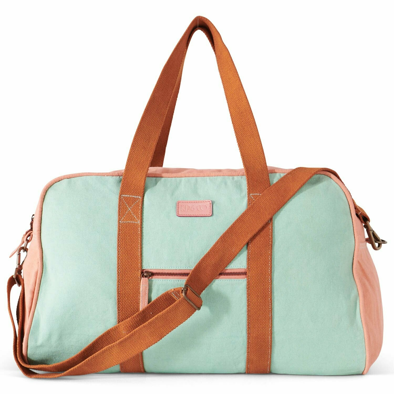 Duffle Bag - Minted Pinky
