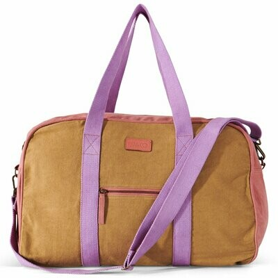 Duffle Bag - Tapenade Rose