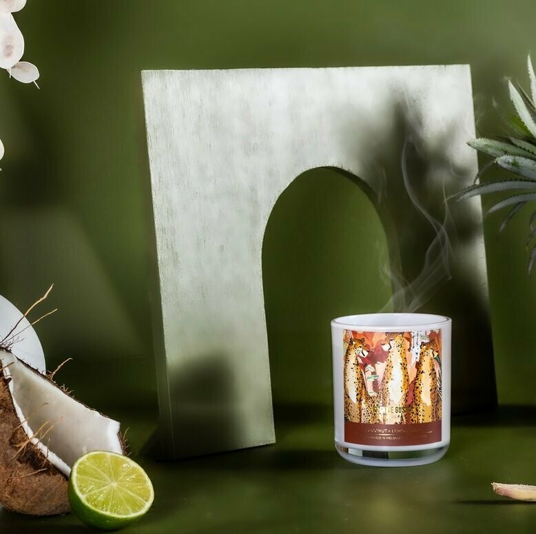 Soy Candle - Mia Pensa - Coconut + Lemongrass