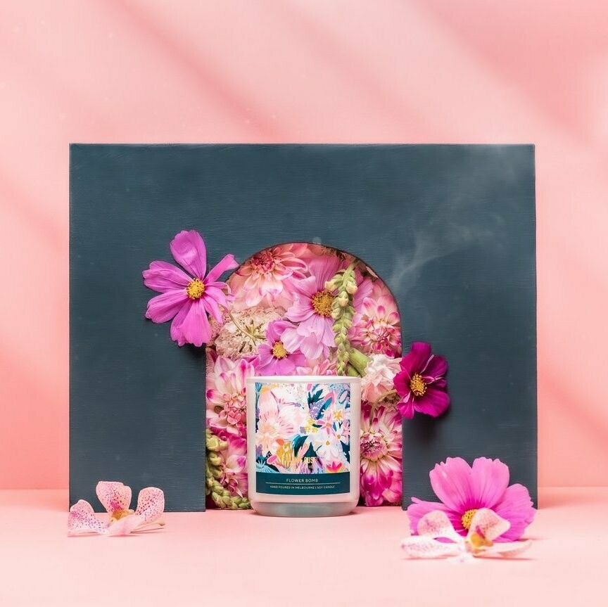 Soy Candle - Morgan Jamieson - Flower Bomb