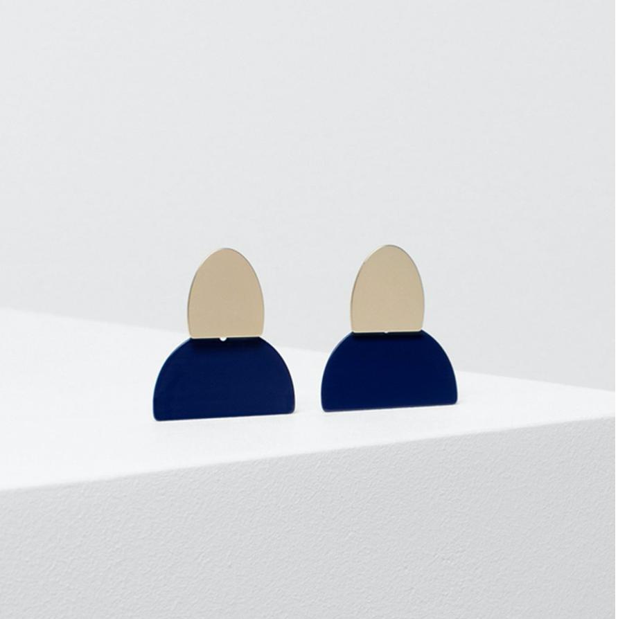 Birgita Earrings - Moonlight
