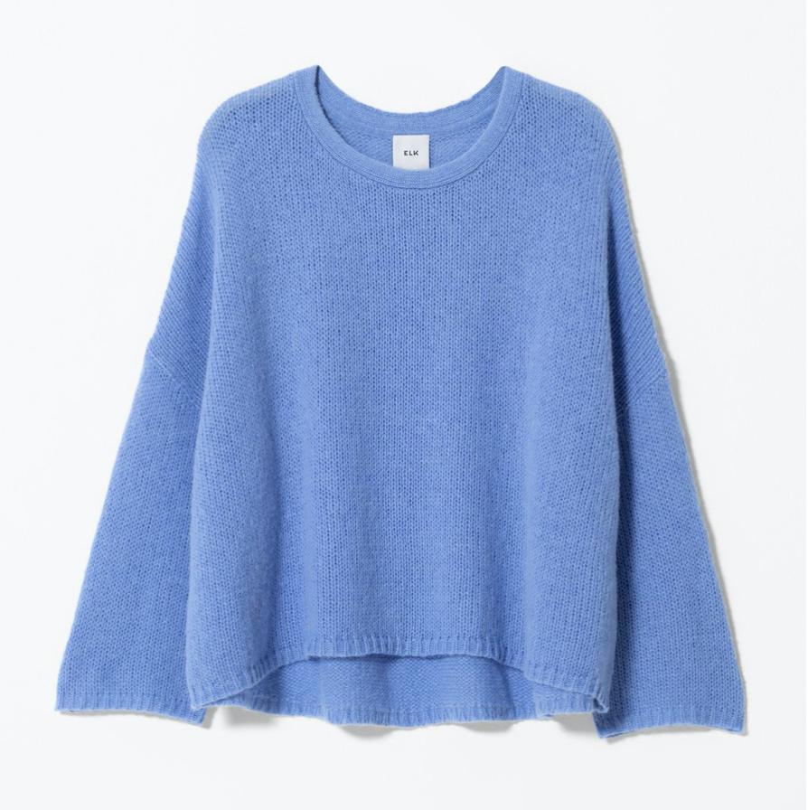 Agna Knit Sweater - Powder Blue