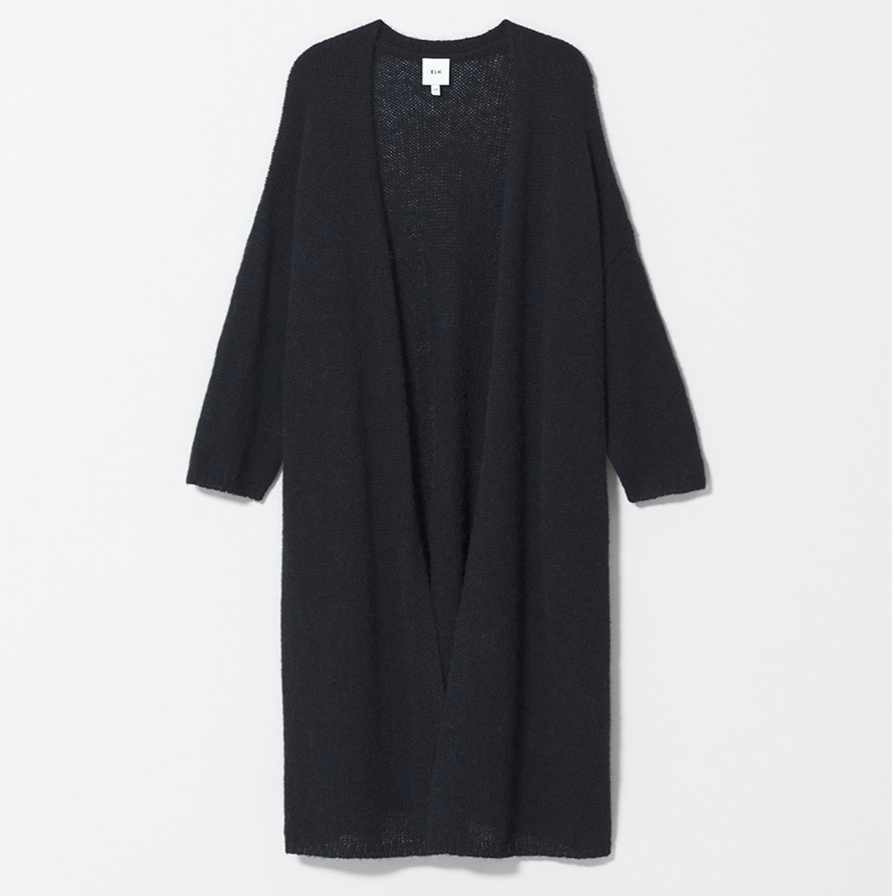 Agna Knit Cardigan - Black