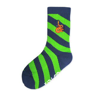 Ribbed Sport Socks - Slither