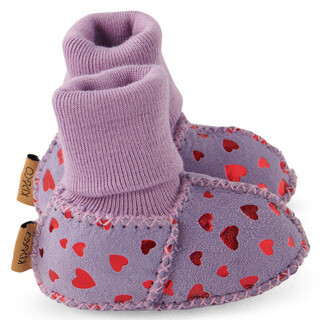 Baby Booties - Big Love Lilac