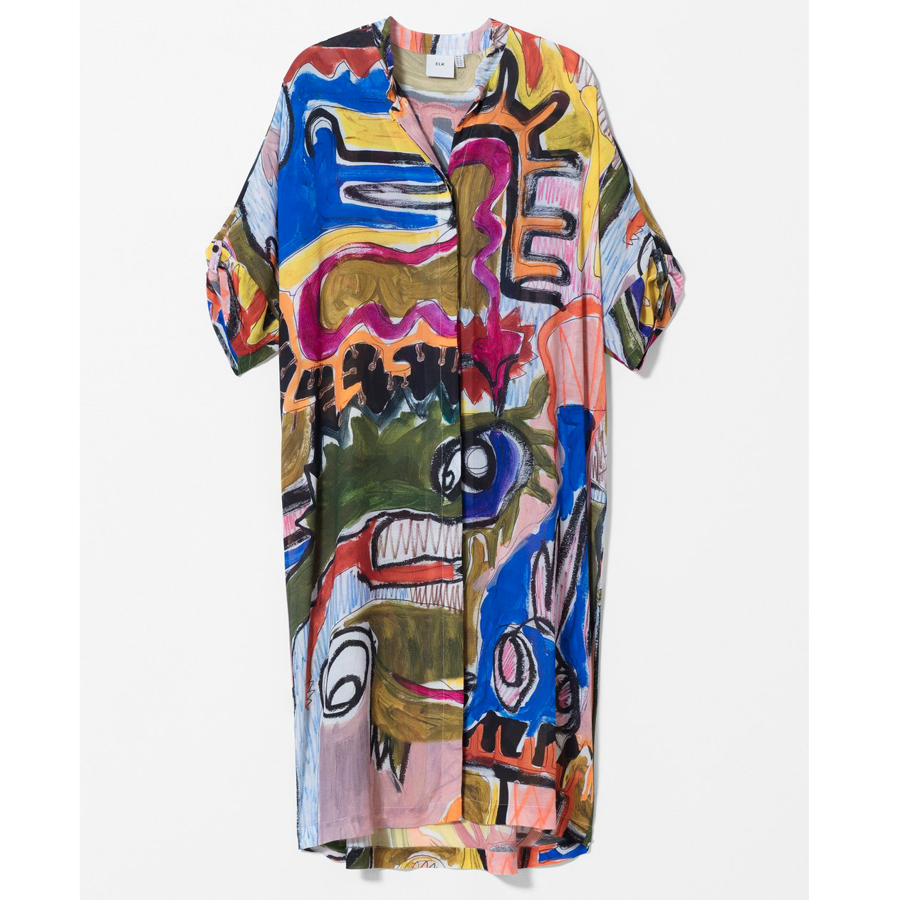 ELK Mostro Shirt Dress - Mostro Print