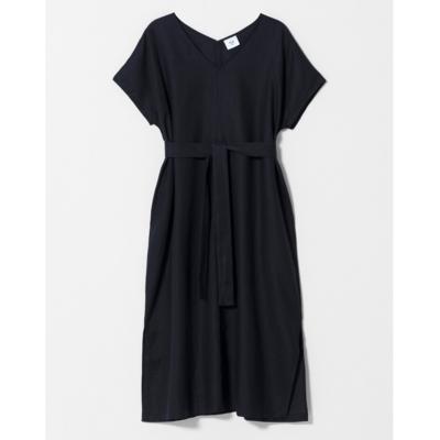 ELK Tora Linen Long Dress - Black
