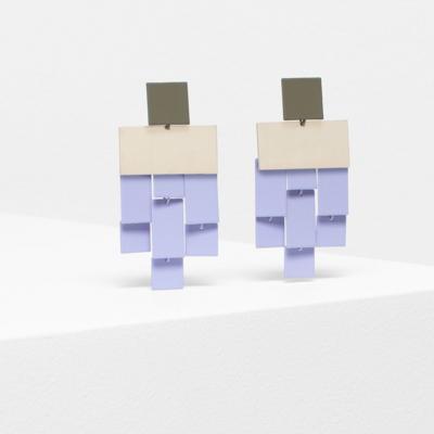Falme Drop Earring - Lavender