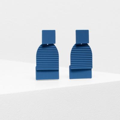 Rakenne Drop Earring - Cerulean Blue