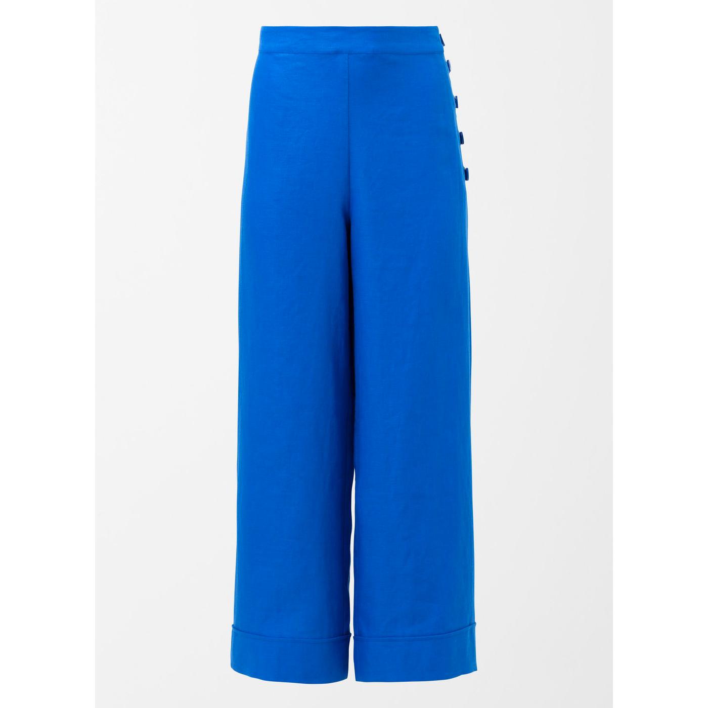 ELK Tora Linen Pants - Electric Blue