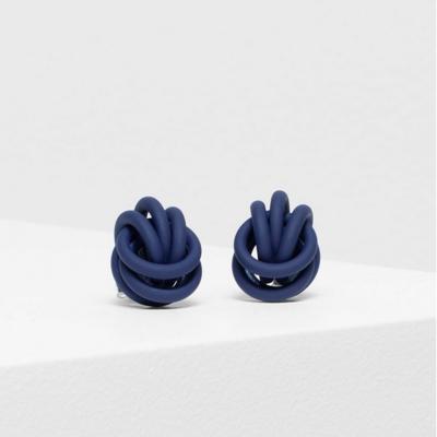 Bojor Stud Earrings - Cobalt