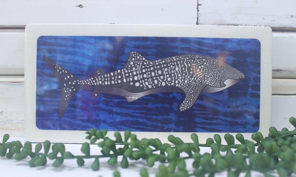 Pano Woodblock - Ningloo Whale Shark