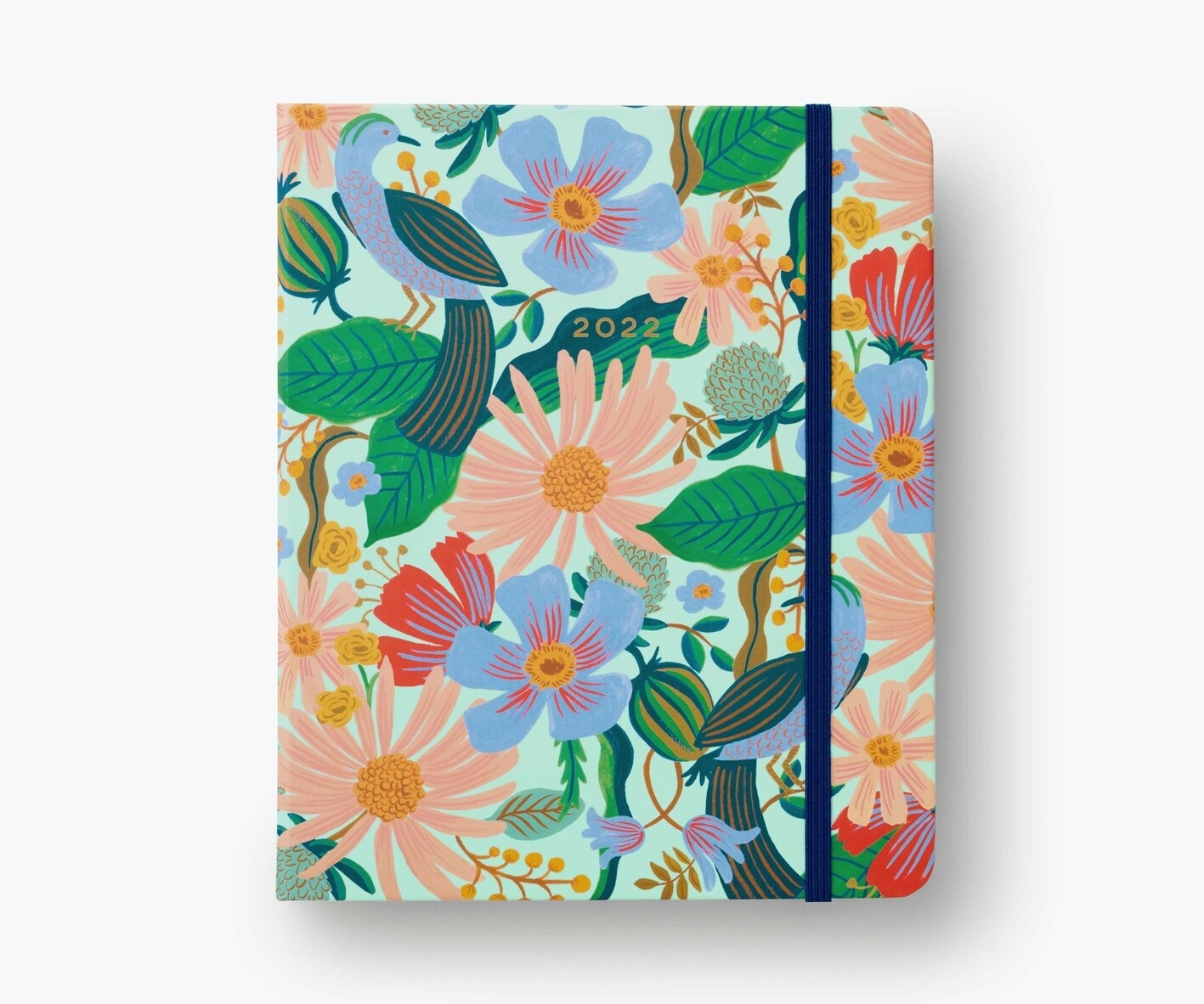 Rifle Paper Co - 2022 17-Month Covered Binder Planner - Dovecote