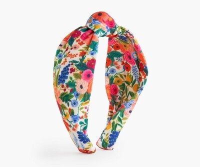 Knotted Headband - Garden Party