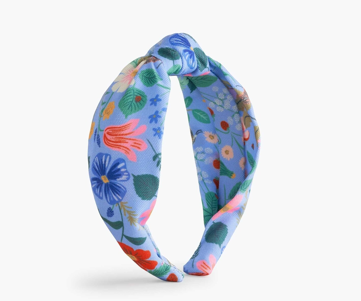 Knotted Headband - Strawberry Fields