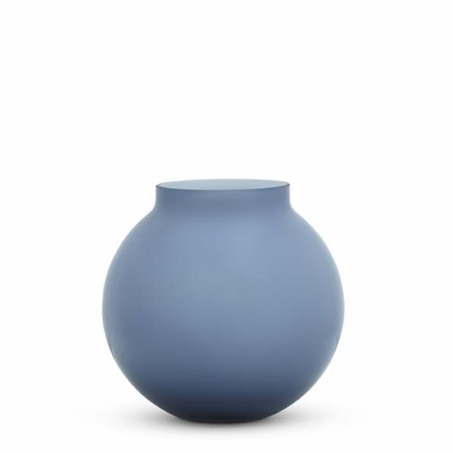 Opal Round Vase - Sky - Medium