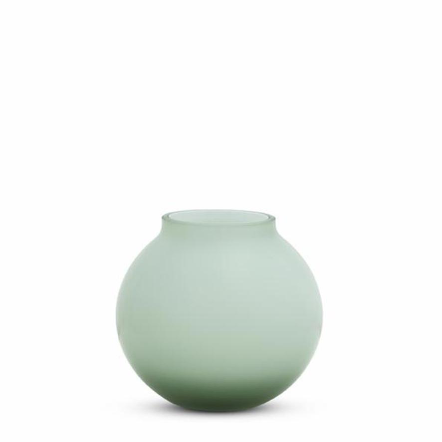 Opal Round Vase - Sage - Small