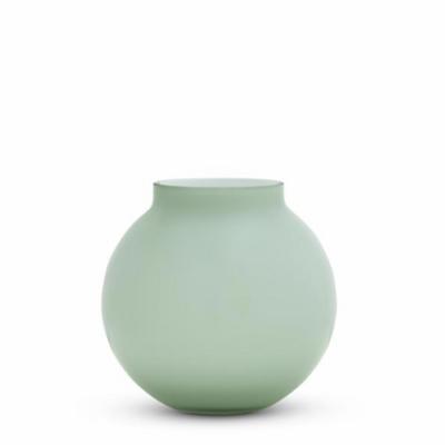 Opal Round Vase - Sage - Medium