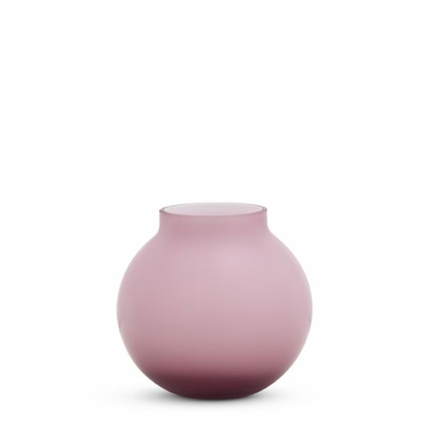 Opal Round Vase - Floss - Small