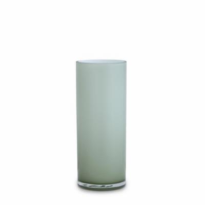 Opal Pillar Vase - Sage - Medium