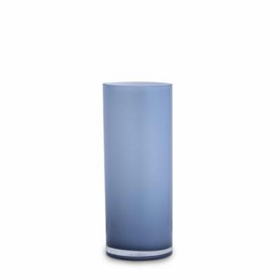 Opal Pillar Vase - Sky - Medium