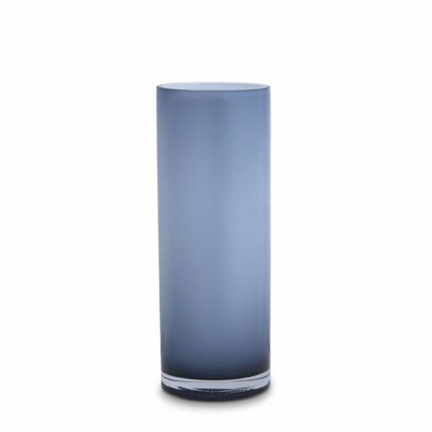 Opal Pillar Vase - Sky - Large
