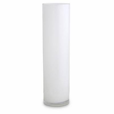 Opal Pillar Vase - White - X Large