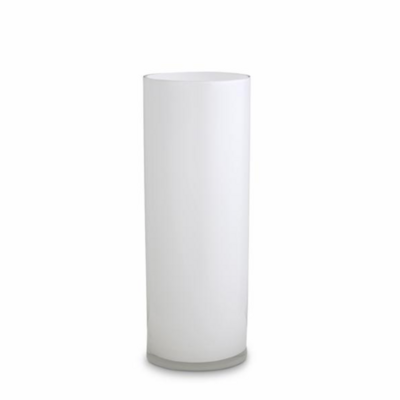 Opal Pillar Vase - White - Large
