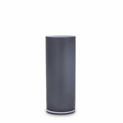 Opal Pillar Vase - Ash - Medium