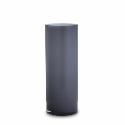 Opal Pillar Vase - Ash - Large