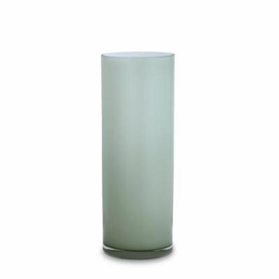 Opal Pillar Vase - Sage - Large