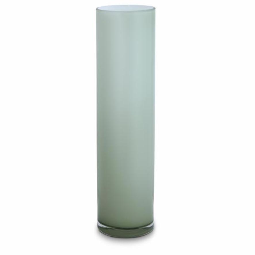 Opal Pillar Vase - Sage - X Large