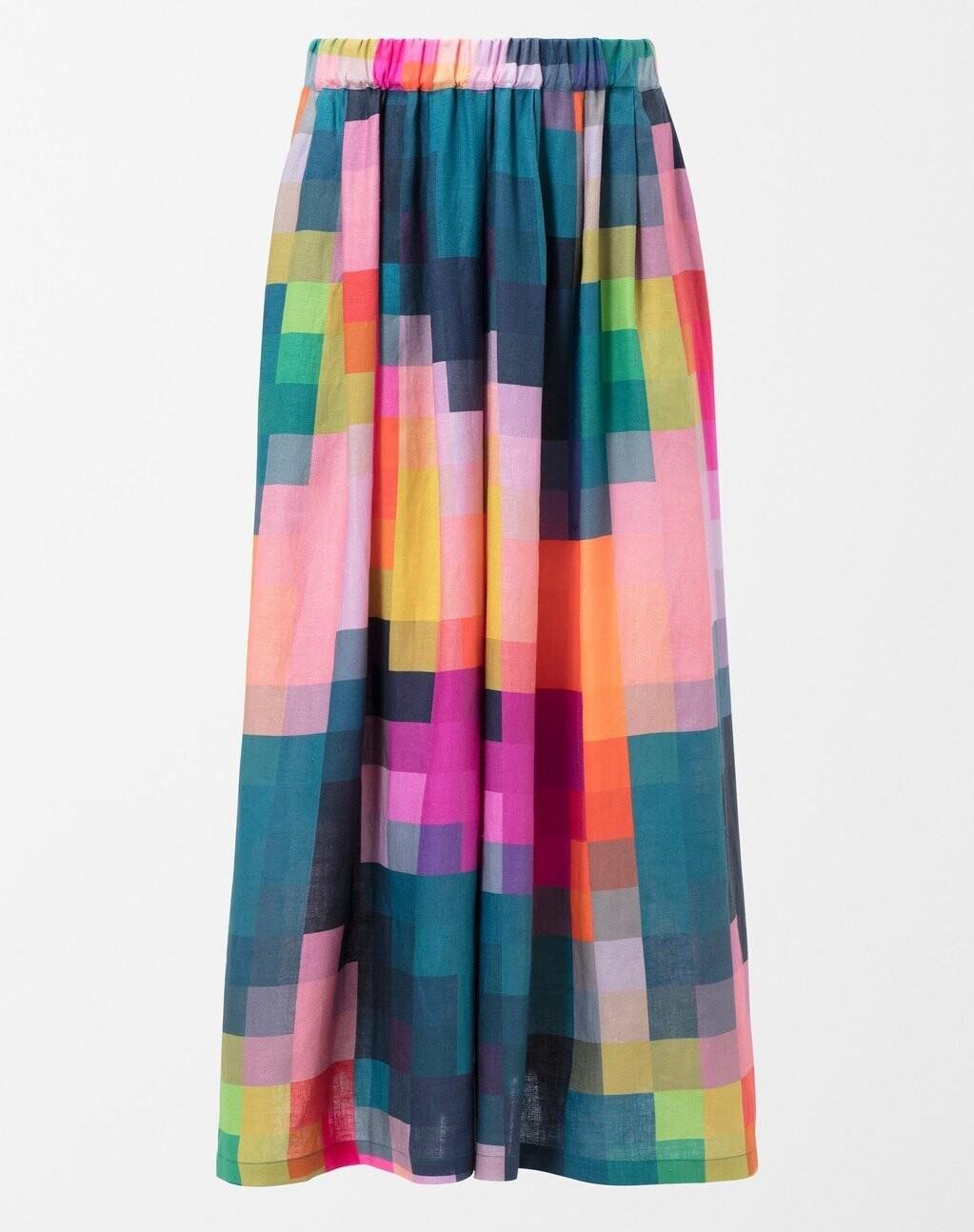 ELK Falme Linen Pant - Pixel Print