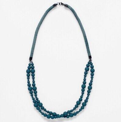 Macrame Necklace - Green