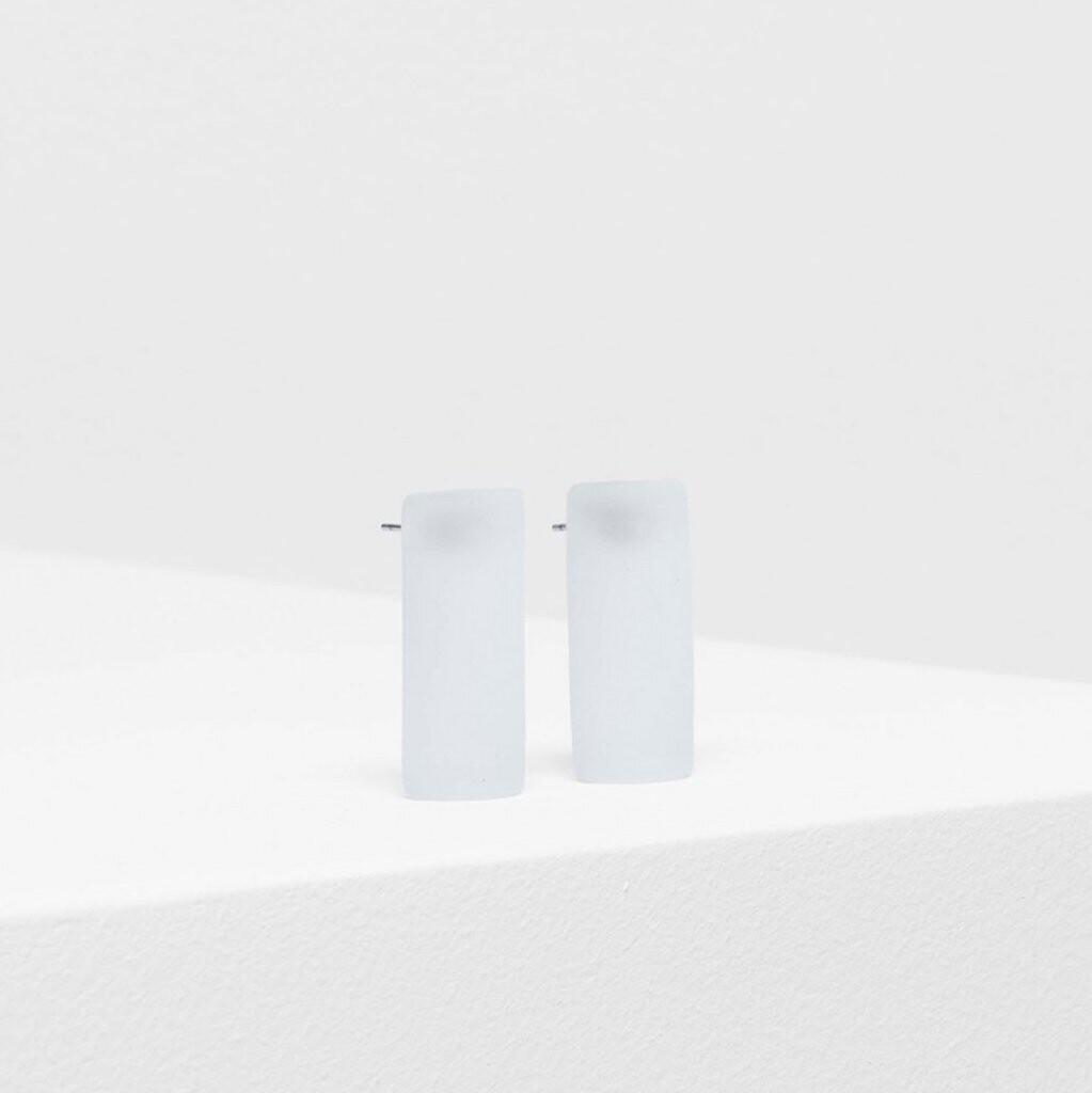 Klar Earrings - White