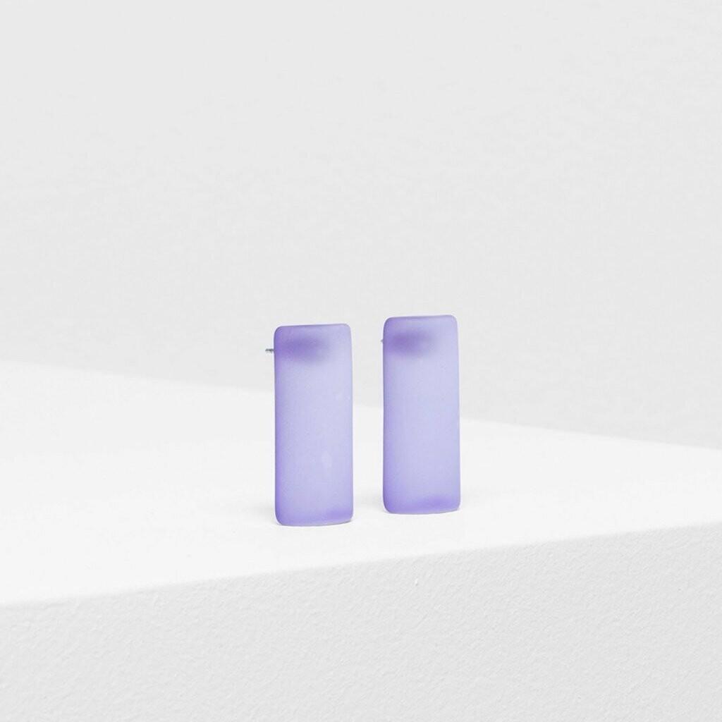 Klar Earrings - Purple