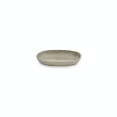 Oval Cloud Plate - Small - Dove Grey