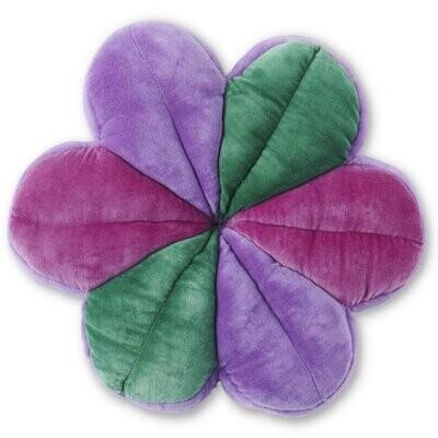 Velvet Petal Cushion - Crystal