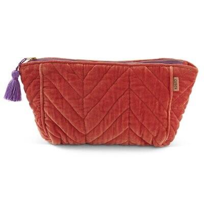 Velvet Toiletry Bag - Glamour