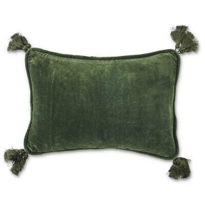 Velvet Souk Cushion - Wakame