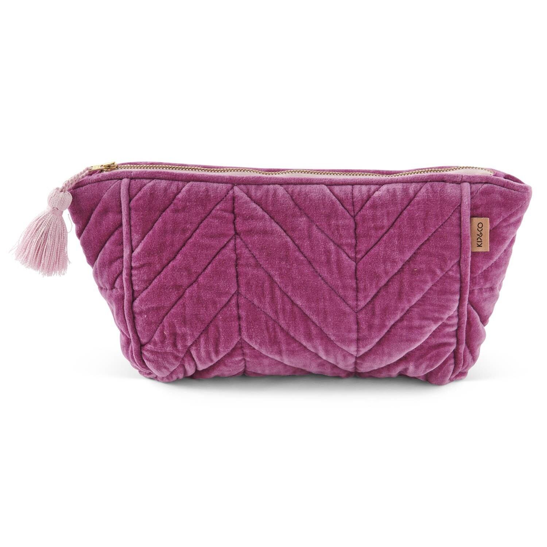 Velvet Toiletry Bag - Kissable