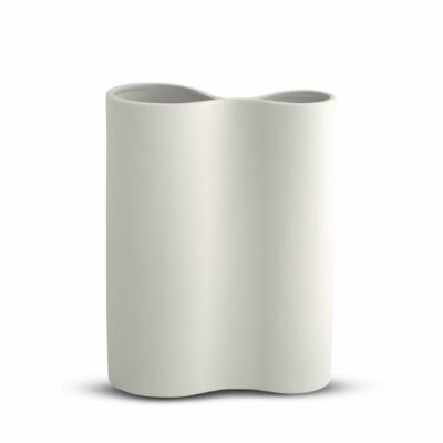 Infinity Smooth Vase - Medium - Snow