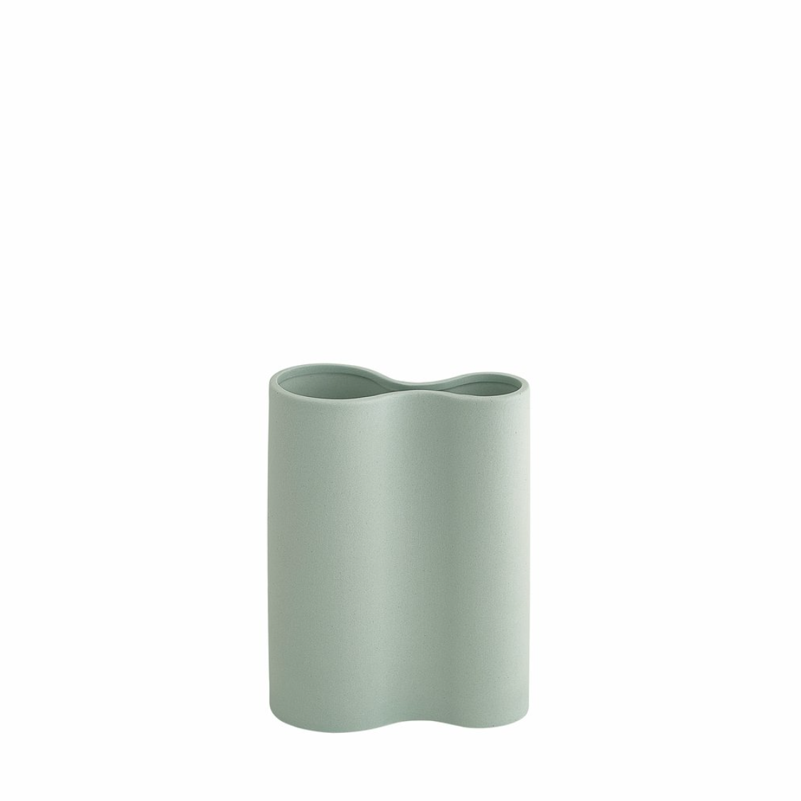 Infinity Smooth Vase - Small - Blue