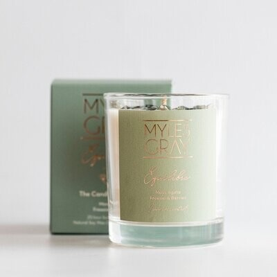Mini Crystal Candle - Equilibre - The Candle of Balance